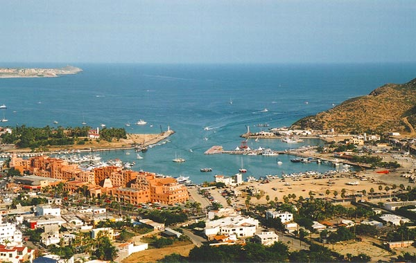 Cabo San Lucas (popularly known as just Cabo) is a small city at the